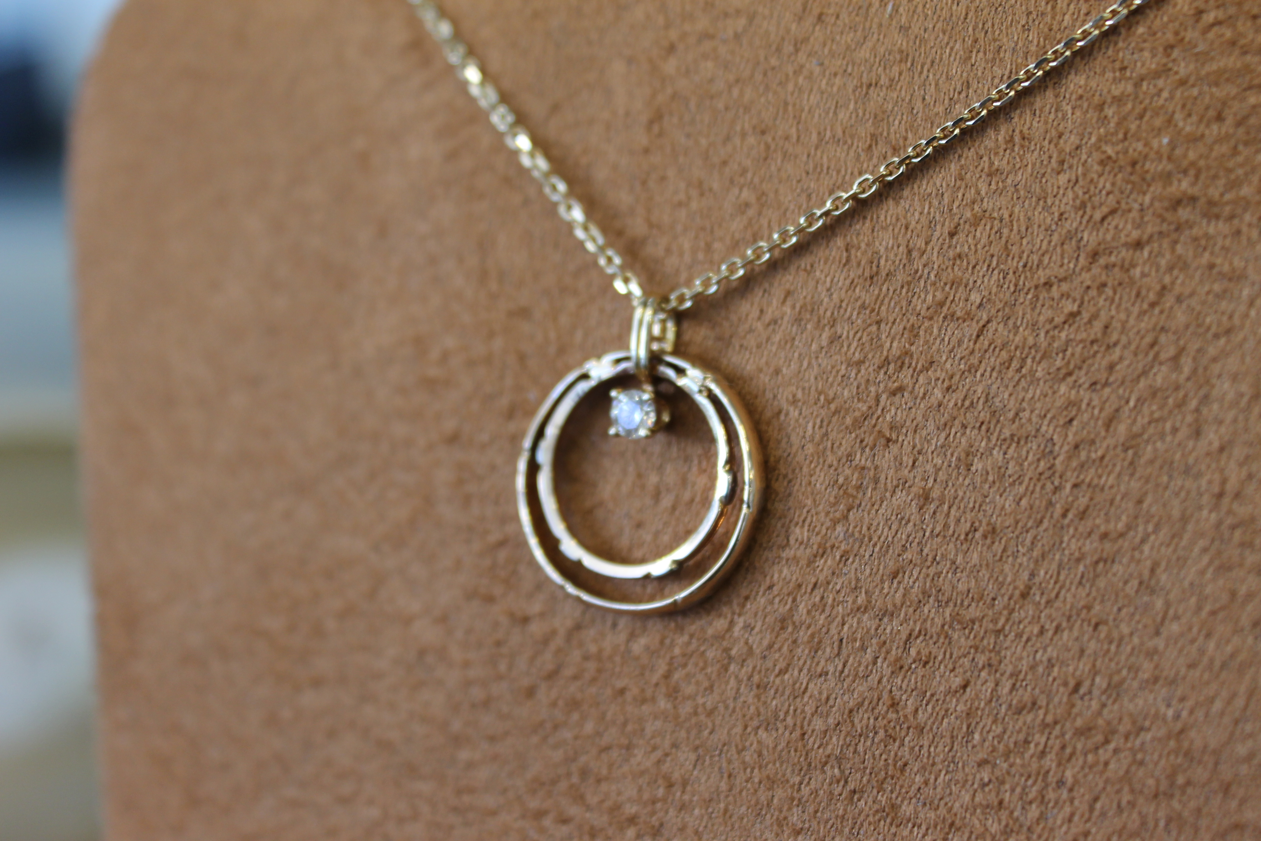 the most beautiful wedding rings wedding ring on necklace - Wedding Ring Necklace